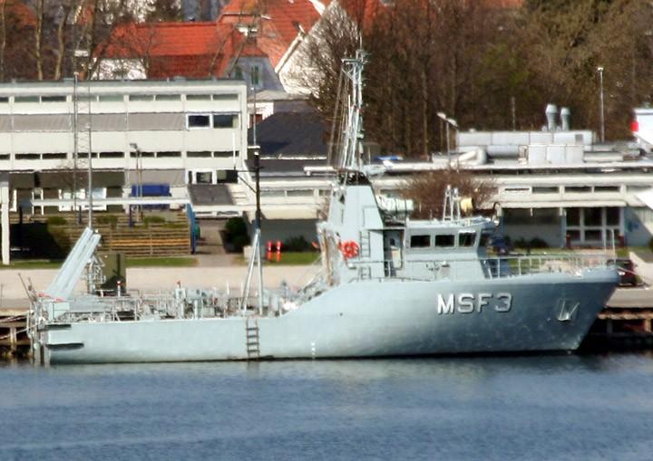 Mine Clearance Vessel MSF3