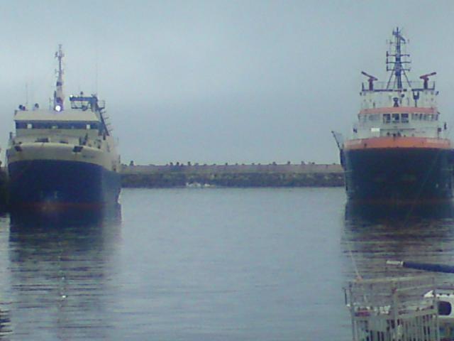 Seacor Achiever enter Mosselbay harbour.