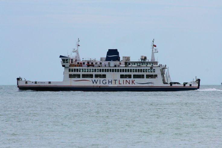 Wightlink ferry St. Cecilia