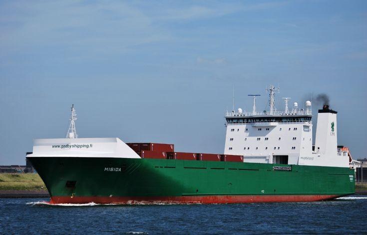 Ships in IJmuiden Area