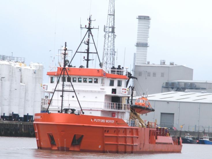 Putford Worker.  Gt Yarmouth  13/7/2011