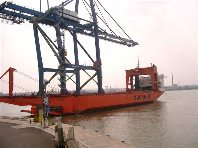 Docklift at Tilbury