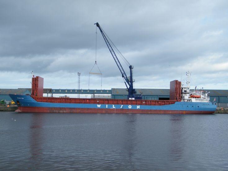 Wilson Tees cargo vessel