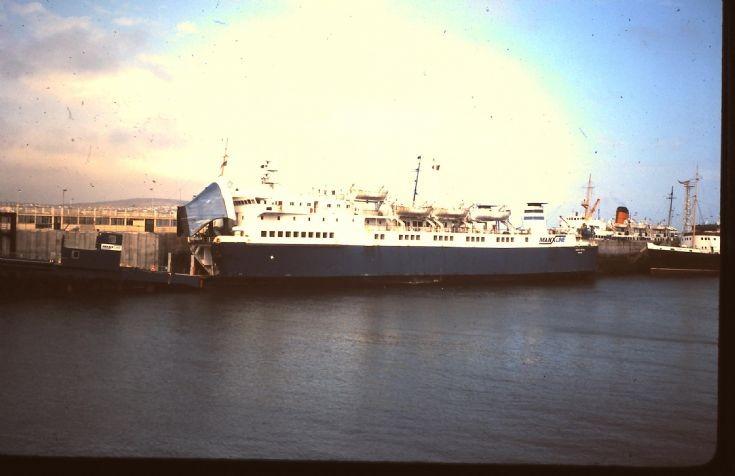 MANX VIKING in Douglas Harbour