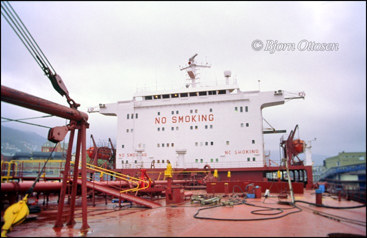 Superstructure of SIBEIA - Crude oil tanker