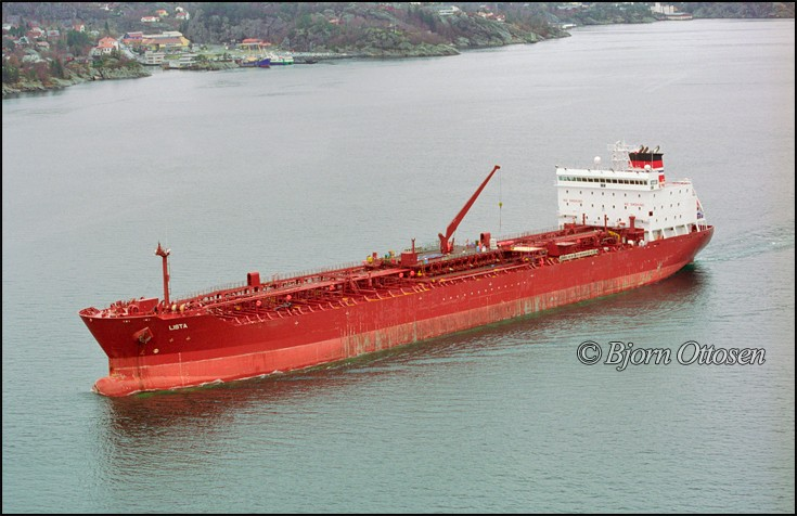 LISTA - Product tanker