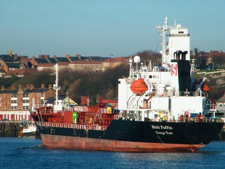 STOLT  PUFFIN   stern view