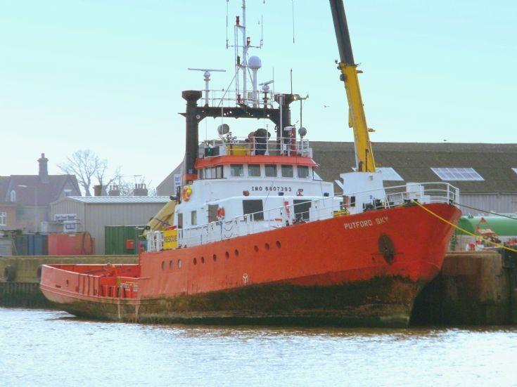 Putford Sky    Gt.Yarmouth     03/03/2012
