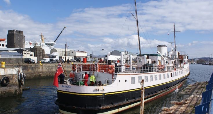 MV Balmoral Back on the Clyde