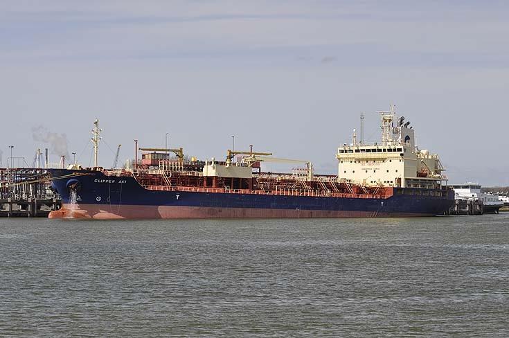 Tanker Clipper Aki Rotterdam