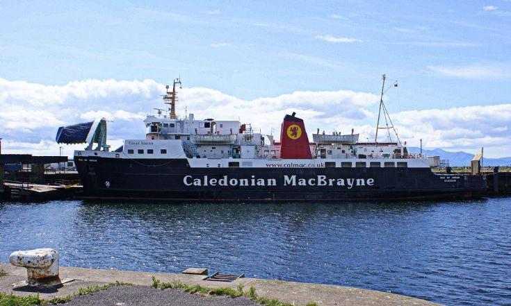 Calmac - MV Isle of Arran at Ardrossan