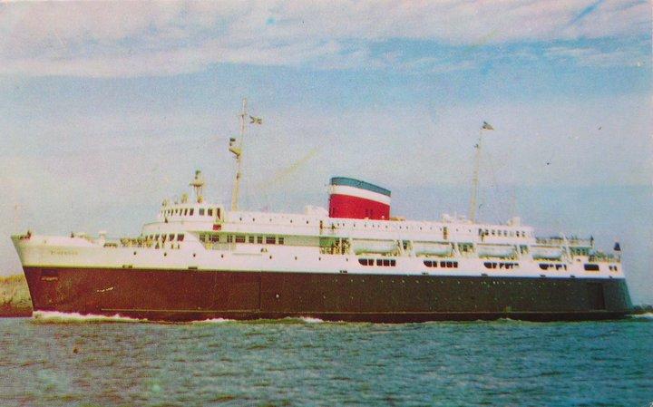 M.V.Bluenose, Yarmouth, NovaScotia 1958