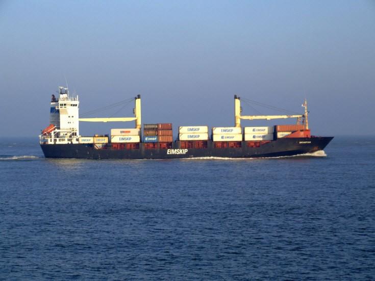 Photo of Eimskip's vessel Bruarfoss