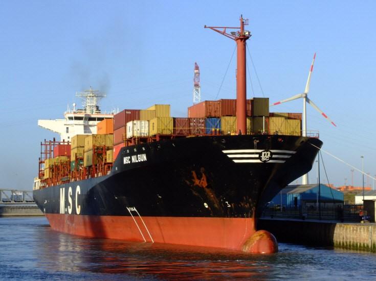 Container ship MSC Nilgun