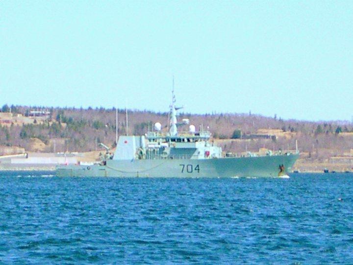 HMCS Shawinigan MM 704,April 26,2007