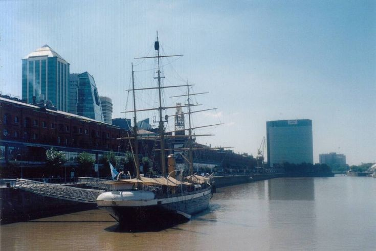 Sailing vessel ARA Uruguay