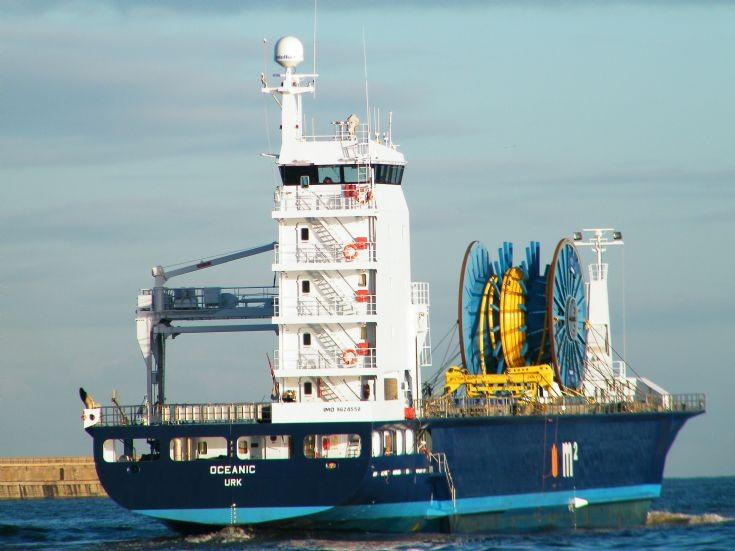 OCEANIC  stern view