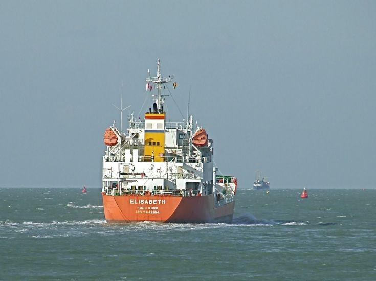 LPG tanker Elisabeth (IMO 9442184)