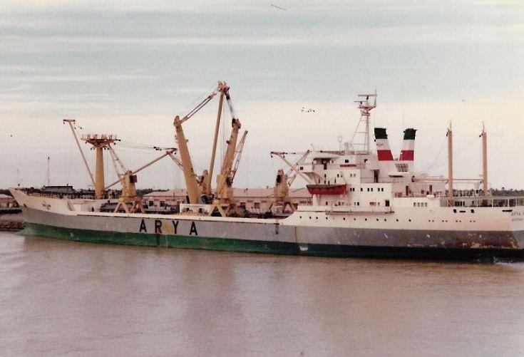 Iranian cargo ship Arya Naz