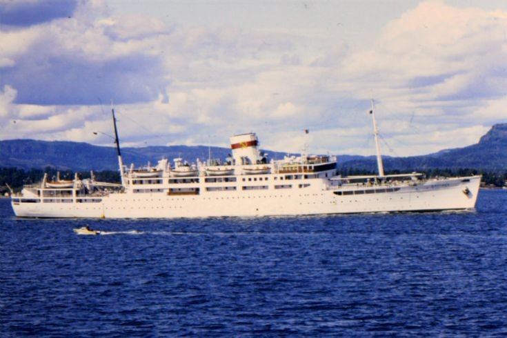Soviet cruise ship Baltika