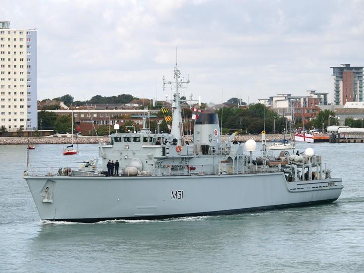 HMS Cattistock M31