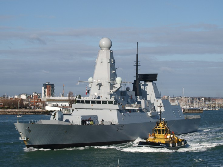HMS Dragon & SD Reliable