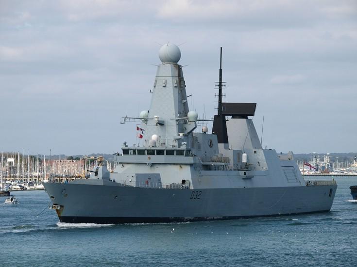 Royal Navy HMS Daring