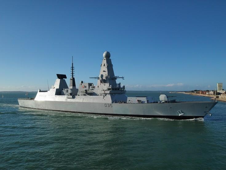 RN Destroyer HMS Dragon (D35)