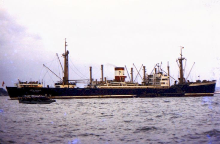 Singaporean cargo ship 'Kota Makmur' of 1948