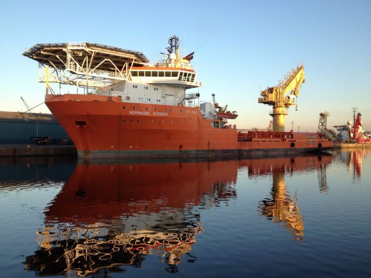 Normand Pioneer - Offshore Support Vessel.