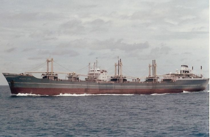 Greek bulk carrier 'Atlantic Star' of 1963