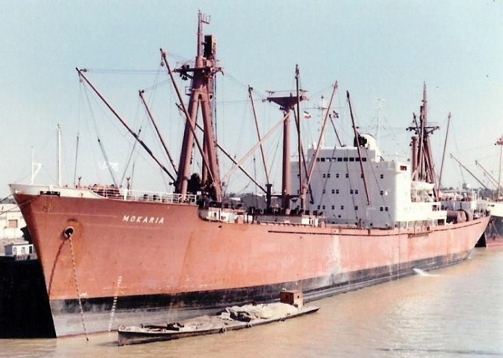 Belgian cargo ship 'Mokaria' of 1964