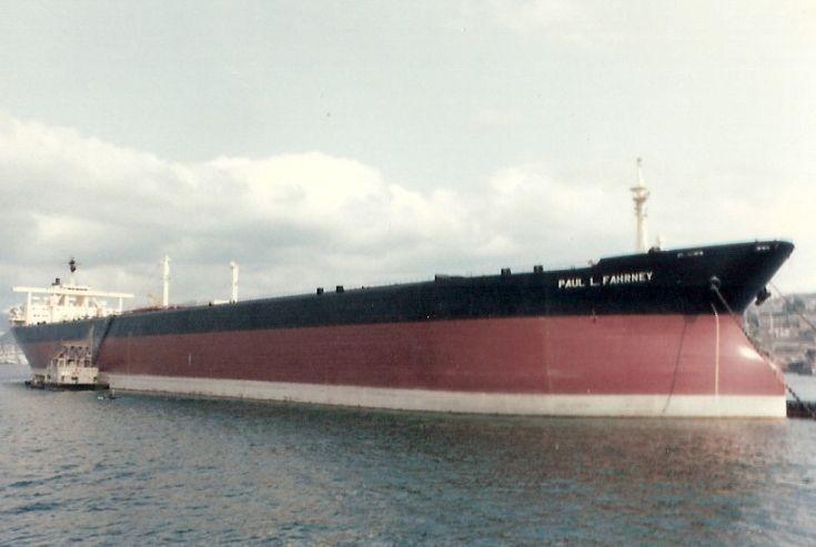Liberian VLCC 'Paul L. Fahrney' of 1971