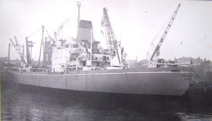 BRITANNIC in 1967
