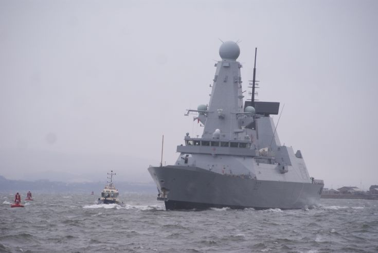 HMS Duncan - D37