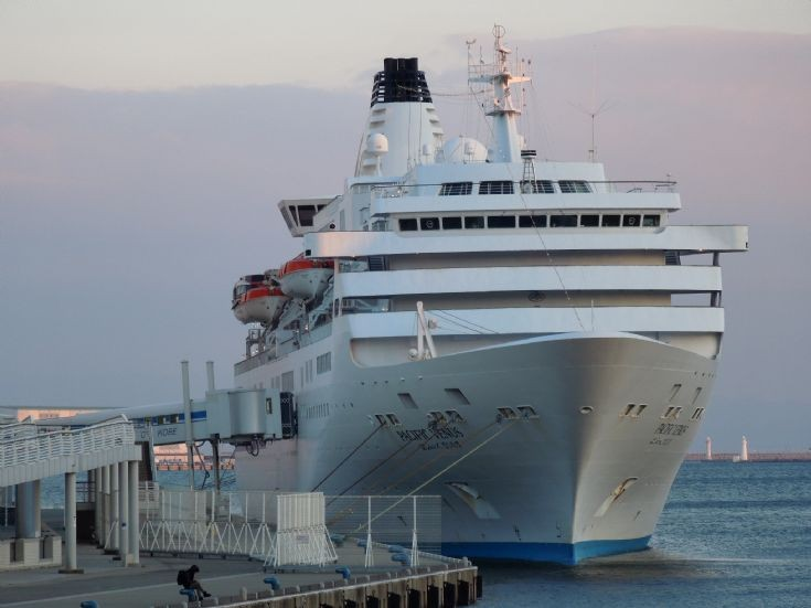 Japanese cruise ship 'Pacific Venus' (2)