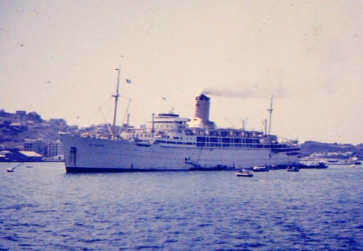 British passenger liner 'Chusan' of 1950