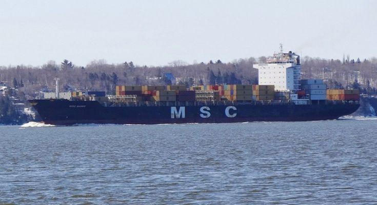 Container ship MSC Banu