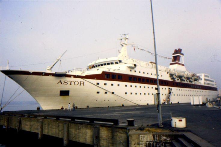 West German passenger ship 'Astor' of 1981