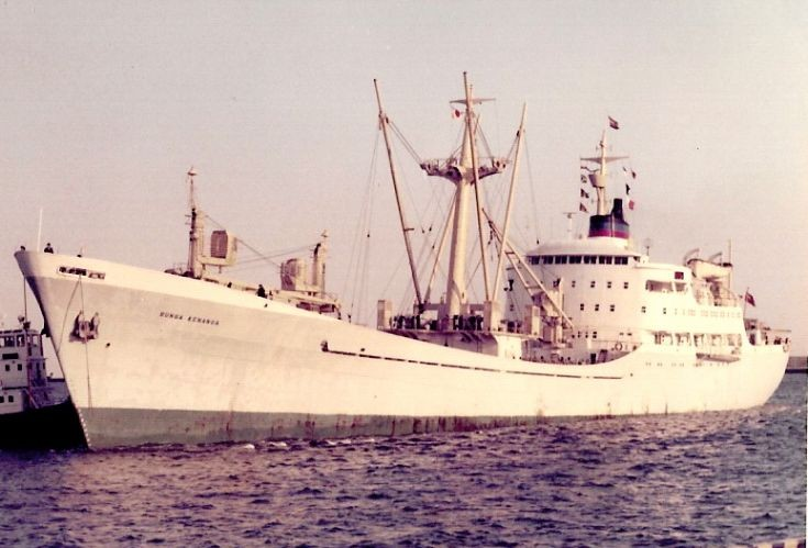 Malaysian cargo ship 'Bunga Kenanga' of 1959