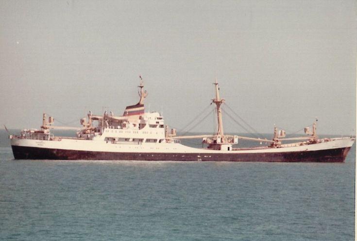 Indian cargo ship 'Mahabharat' of 1959