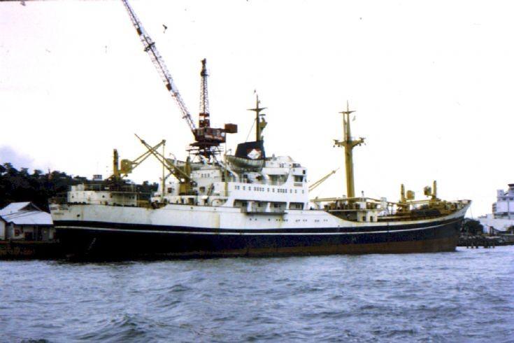 Liberian cargo ship 'Trikora Djaya' of 1961