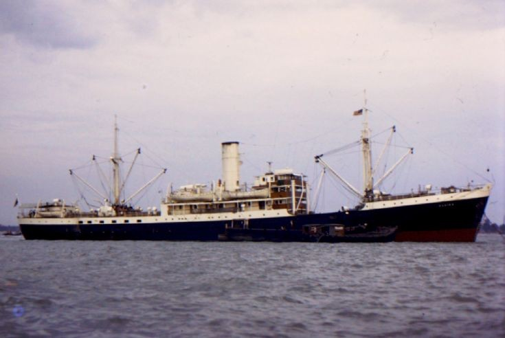 Panamanian cargo ship 'Kadina' of 1946