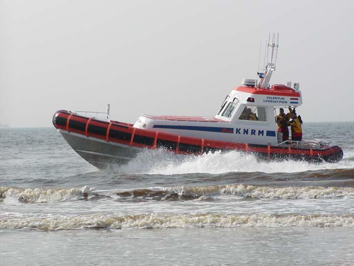 KNRM Life boat Valentijn Noordwijk