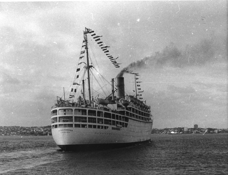 The SS Stratheden
