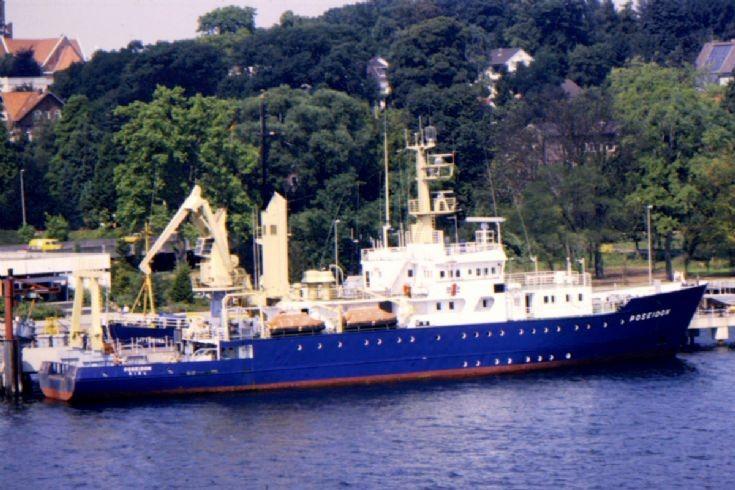 West German research ship 'Poseidon'