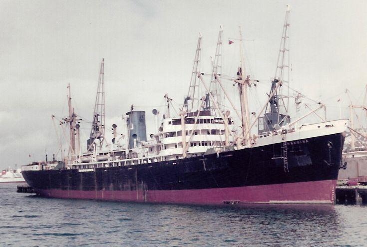 British cargo ship 'Chakdina' of 1951