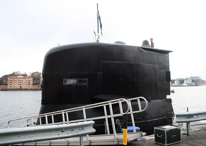 Sail (conning tower) - HSwMS Södermanland