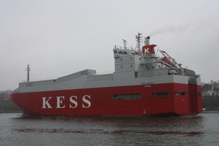 MAIN HIGHWAY at Kiel Canal