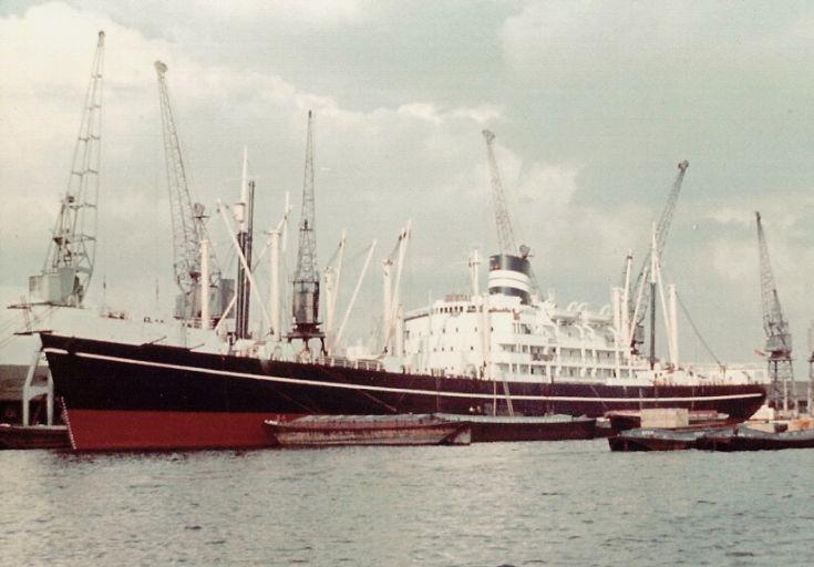 British cargo ship 'Juna' of 1952